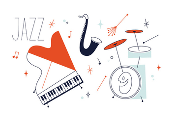 Free Jazz Music Vector - Free vector #337029