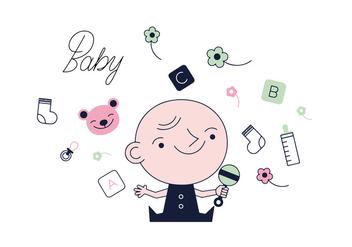 Free Baby Vector - Kostenloses vector #337059