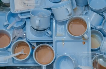 Dirty coffee cups - image #337899 gratis