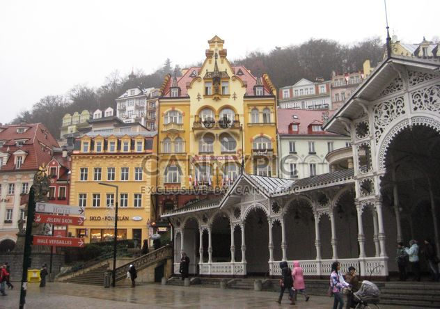 Houses in Karlovy Vary - Free image #338219