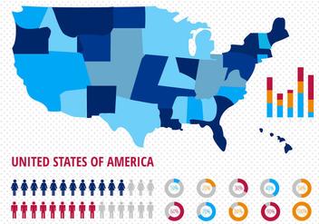 Free American Population Vector - Free vector #338659