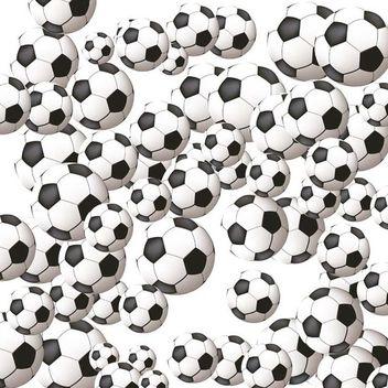 Soccer balls - Free vector #338939
