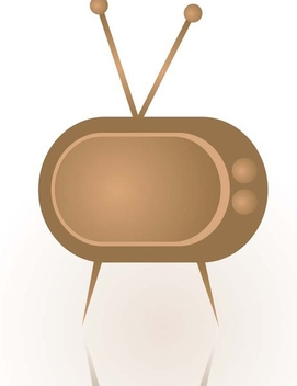 Abstract TV - Free vector #338949