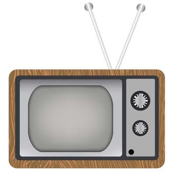 Old TV - vector gratuit #338959
