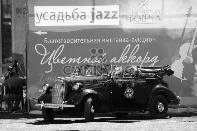 Старый автомобиль, Усадьба Джаз фестиваль - бесплатный image #339169