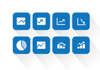 Stats Vector Icons - Free vector #339319