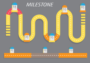 Milestone Vectors - Kostenloses vector #339439