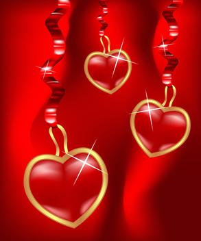 Vector Hearts - Kostenloses vector #339579