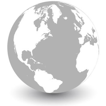 Vector globe - earth - Free vector #339659