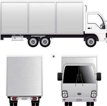 Cargo Van - Free vector #339849