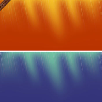 Two Vector Backgrounds - Free vector #339979