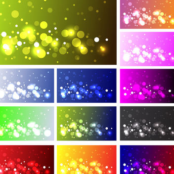 Bokeh Effect - Free vector #340079