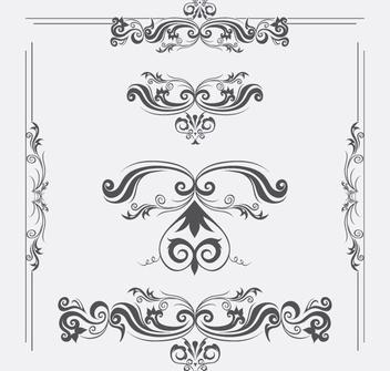 Vector Ornaments - бесплатный vector #340129