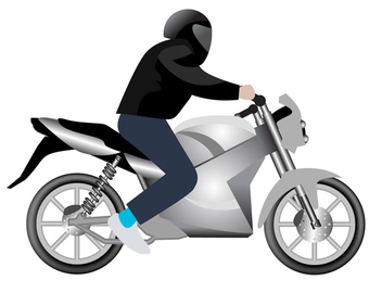 Vector Motorcycle - vector gratuit #340239