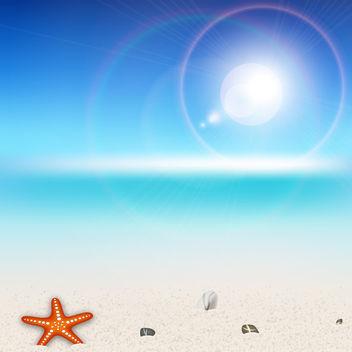 Vector Beach - Kostenloses vector #340299