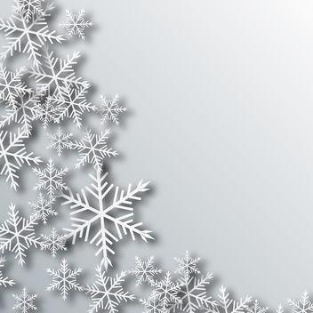 Vector Snow - vector gratuit #340429