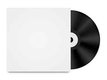 Vinyl Record Template - vector #340649 gratis