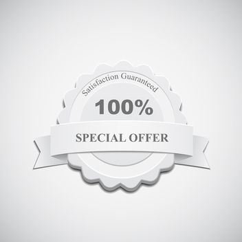 Special Offer Label - Free vector #340679