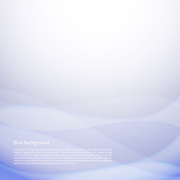 Blue Background - Free vector #340729