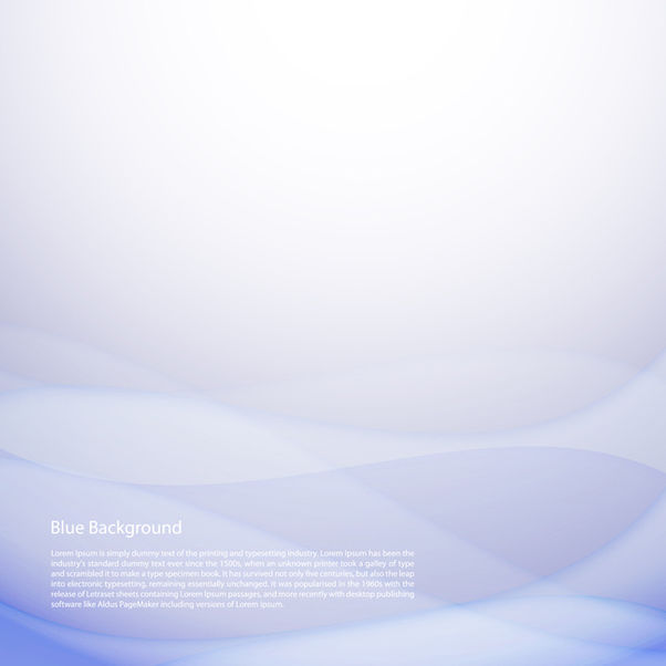 Blue Background - Kostenloses vector #340729