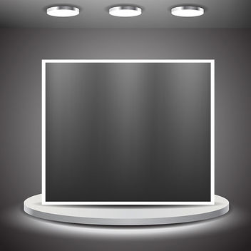 Showroom Panel - Free vector #340789
