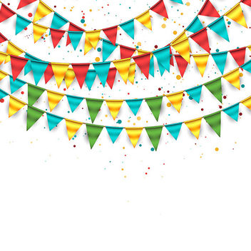 Birthday Background - vector gratuit #340919