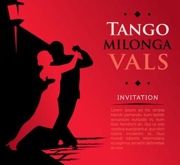 Tango Poster - vector gratuit(e) #341049
