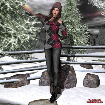 Jana&Little's- Cozy winter outfit - бесплатный image #341229