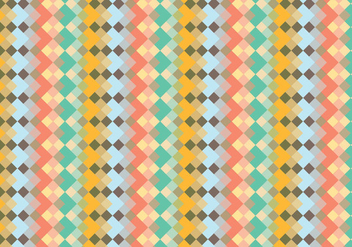 Abstract Diamond Pattern Background - vector #341369 gratis