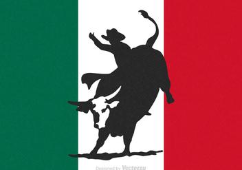 Free Rodeo Bull Rider Vector - бесплатный vector #341379