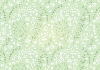 Botanical Vector Seamless Pattern - Free vector #341699