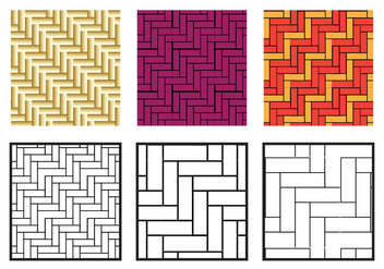 Herringbone Pattern Diagonal Vector - vector gratuit #343039