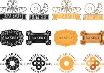 Bakery Logos - Kostenloses vector #343089