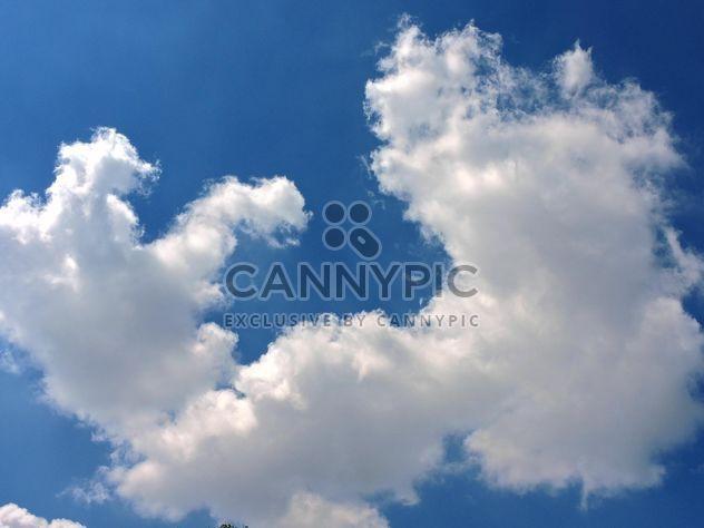 Белые облака на синее небо - Free image #344199