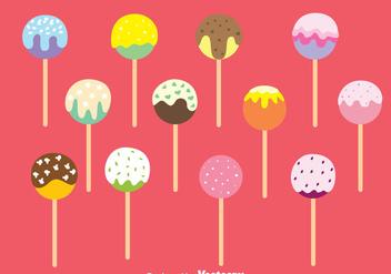 Cake Pops - Free vector #344309
