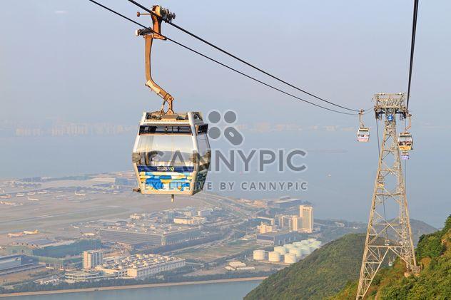 Teleférico en Hong Kong - image #344439 gratis