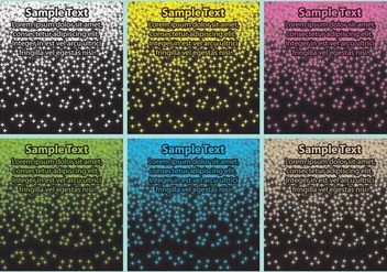 Stardust Templates - Free vector #344669