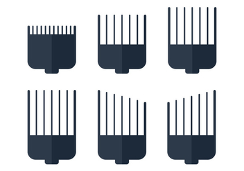 Hair Clippers Blade - Kostenloses vector #344839