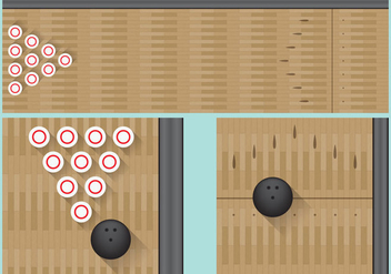 Bowling Alley - Free vector #345149