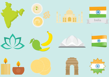 India Icons - Free vector #345259