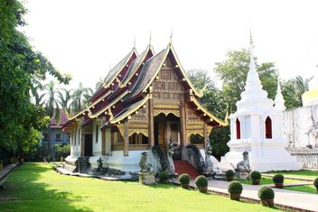 Thai temple in Chiangmai, Thailand - бесплатный image #346289