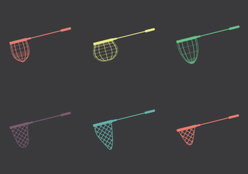 Free Fishing Net Vector illustrations - vector #346349 gratis