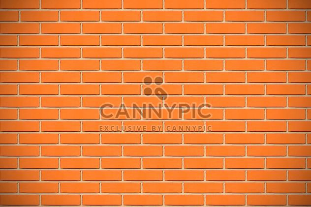 Background of orange brick wall - Free image #346619