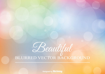 Beautiful Blurred Background Illustration - Free vector #346689