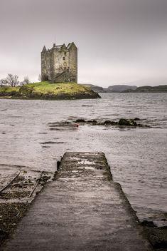 Stalcher castle - Scotland - Travel photography - Kostenloses image #347159