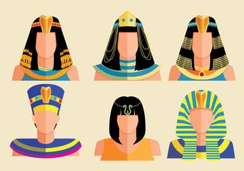 Cleopatra Vectors - Free vector #347549