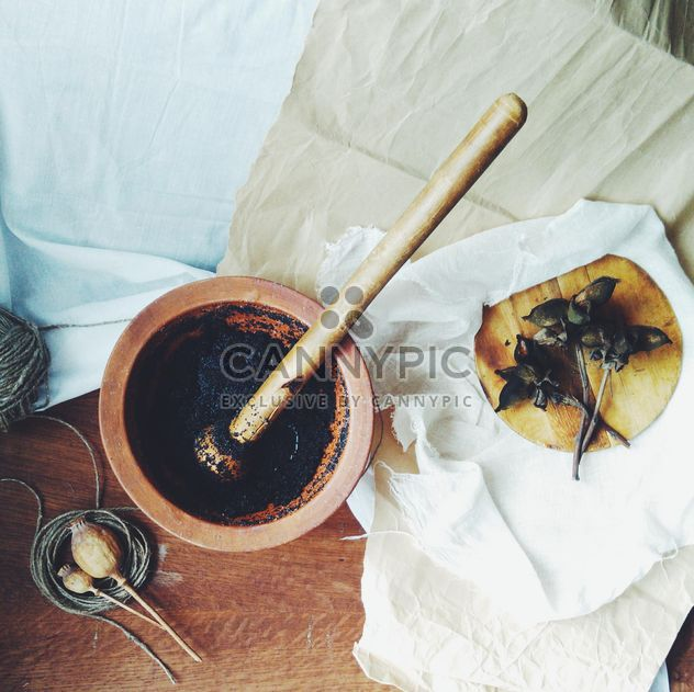 Preparation of traditional porridge kutya - image #347769 gratis