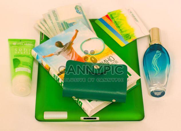 Choses vertes de sac à main femme - image gratuit #348009