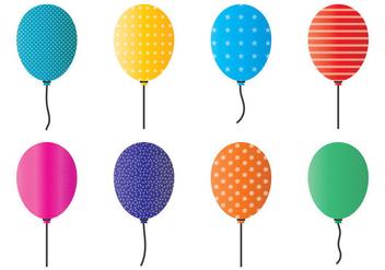 Balloons Vector - vector #348189 gratis