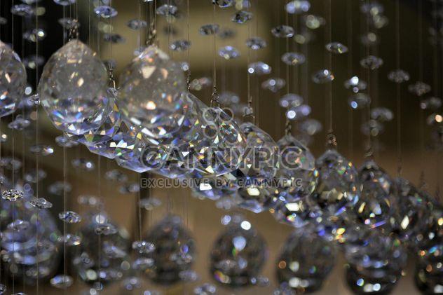 Closeup of beautiful crystals hanging - Free image #348569